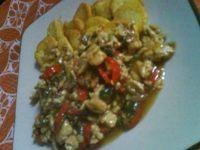 Tofu Siram Daging