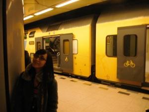 kaya gini nih train nyaa,, tapi bukan ini yang bakalan kita naikin,, train kita belum dateng :P