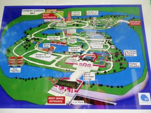 ini dia map nya,, jadi kalian bisa tentukan dulu mau ke arah mana sebelum menyasar-nyasar di dalam :P