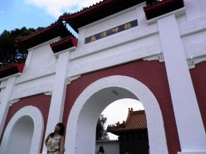 benteng yang kayak di film-film china :P