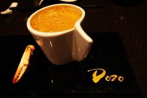 Suami-Crab bisque cappuccino style