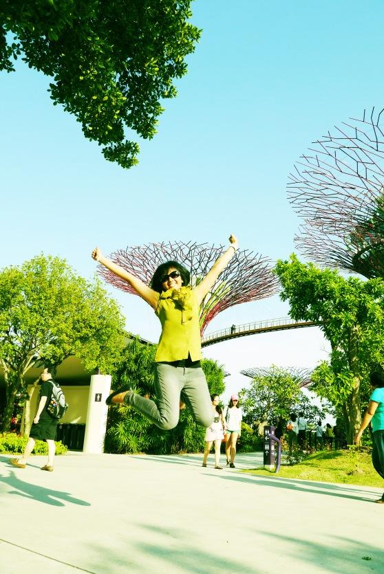 seenggaknya ada yang dapet foto bareng supertree nya :D
