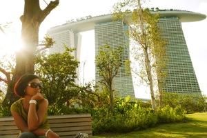 gak jauh ke marina bay sands hotel