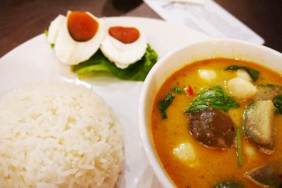 ini punya saya,, green curry (139 baht)