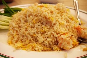 nahh yang ini namanya fried rice shrimp