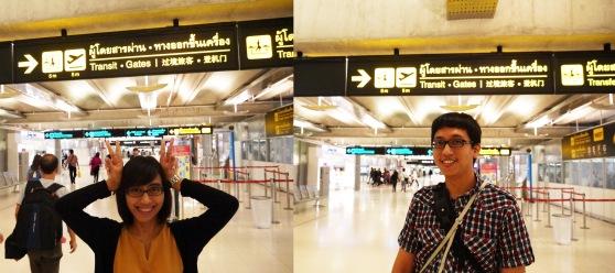 sampaiii di Suvarnabhumi Airport