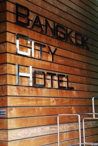 bye bye Bangkok City Hotel