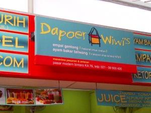 ini dia Dapoer Wiwi's,, katanya sih menerima pesanan juga