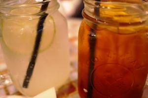 Soda Charn and Ice Lemon Tea