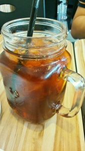 Homemade lemon tea (include di harga combo A bareng soup)